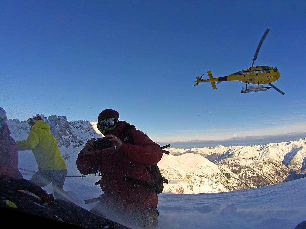 heliboarding Valle de Aran
